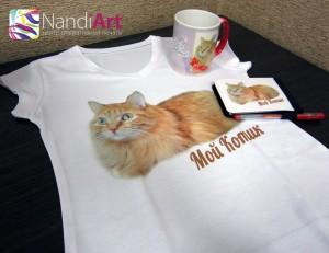 Печать на футболках - футболки с печатью, футболки с фото в Саяногорске